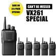 Here is the Talktwoway.com exclusive bundle special for Vertex Standard Radios.