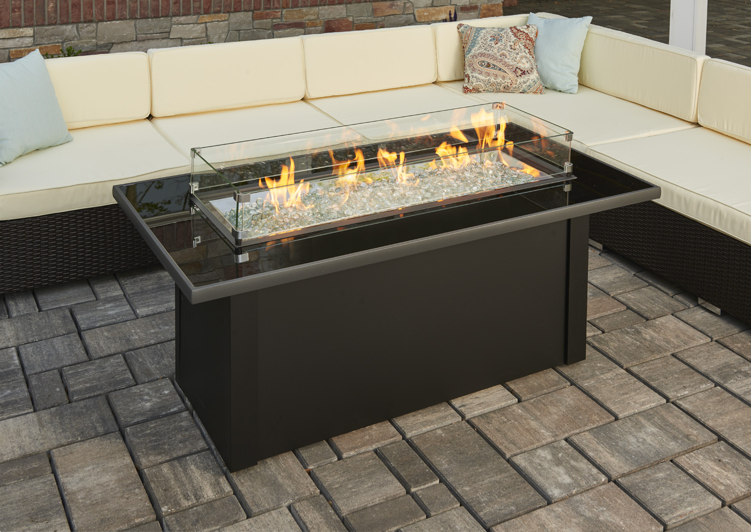 New Product Monte Carlo Gas Fire Pit Table