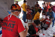 Cinat members provide first aid in Nepal.