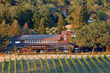 The original Joseph Phelps winery building was designed in 1973 by renowned architect John Marsh Davis. (Photo by Bruce Damonte)