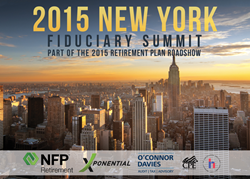 2015 New York Fiduciary Summit