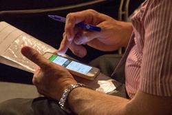 SpotMe event app at ESHRE 2015