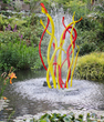 Invisible Forces Fountain - Yellow & Red