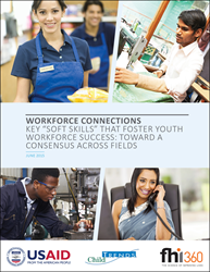"New report identifies five most important ""soft skills"" that will help youth find and keep jobs"