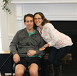Brad and Jessica Berman, a stroke survivor and his wife, were honored with a Burke Award on June 16. The couple runs a community campaign to benefit Burke's lower extremity robotics program.