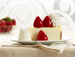 The Cheesecake Factory's signature Fresh Strawberry cheesecake