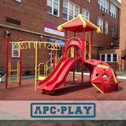 'Riviera' school playground designed by APCPLAY