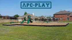 Skyline Estates add new APCPLAY commercial play structure to community park