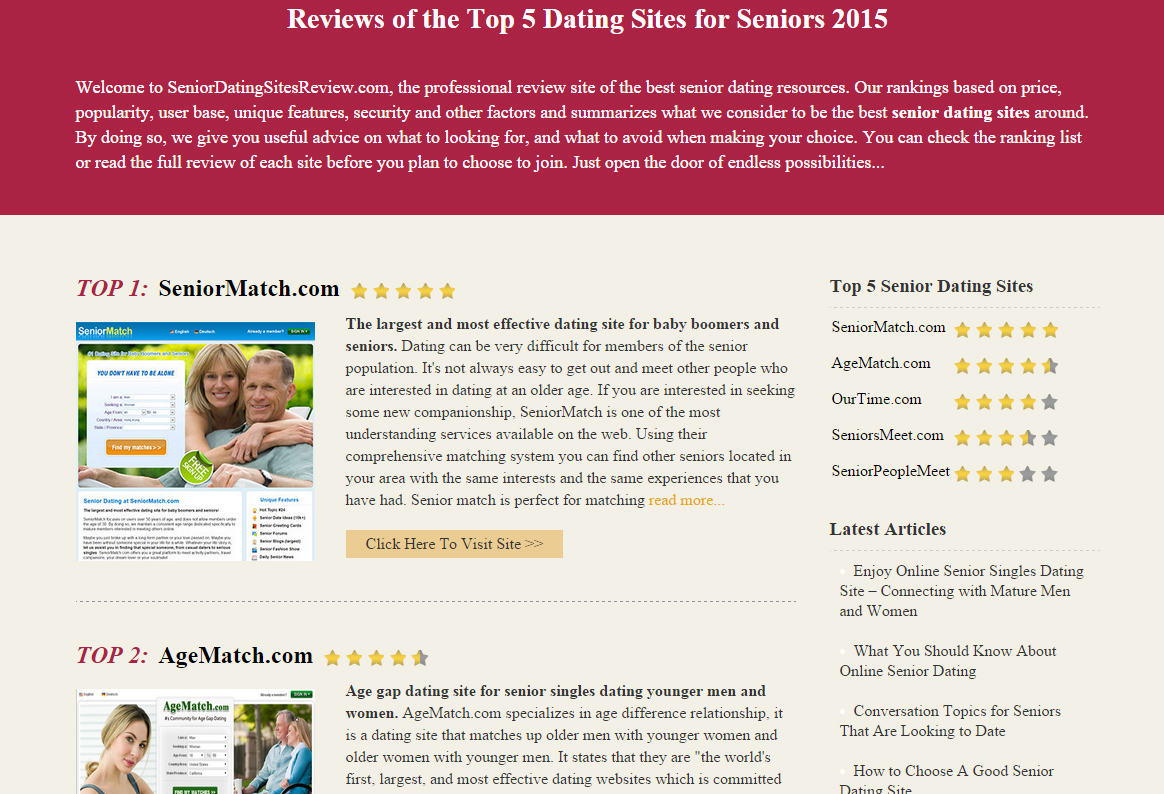 from Keaton top 5 dating sites 2015