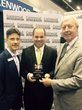 Technical Innovation accepts Best House of Worship Award at InfoComm 2015