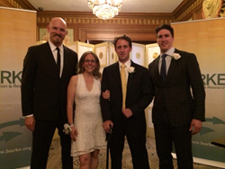 2015 Centennial Burke Award Honorees accepted their award at the Pierre Hotel in New York City on June 16.