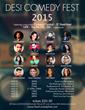 2015 Desi Comedy Fest Poster