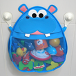 The Hurley Hippo Bath Toy Organizer Makes Bath Time Fun