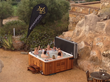 Hot Tubs provide the flexibility to locate them in most locations