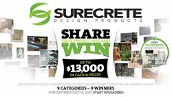 Decorative Concrete Contest by SureCrete Design