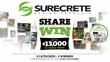 SureCrete Announces Design Contest Offering Cash and Prizes