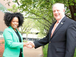 Wyman Center and inspireSTL signed a formal collaboration agreement on June 15 to combine the two organizations.