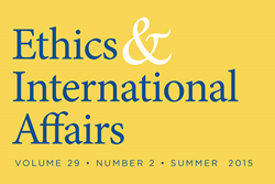 """Ethics & International Affairs"" Summer 2015 Issue"