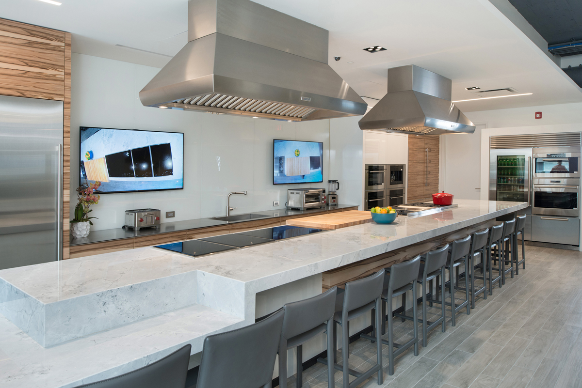 Colorado Architects Arch11 Design State Of The Art Appliance Showroom For Roth Living