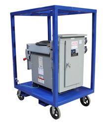 Power Substation taht Converts 480VAC to 120 and 240VAC