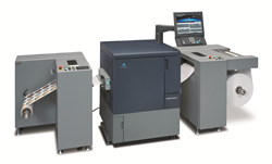Anderson & Vreeland and Konica Minolta to introduce the bizhub PRESS C71cf press specifically designed for narrow web applications.