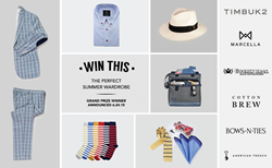 Custom Designed Menswear Fashion Giveaway