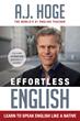 New Book Asks: Is Grammar Study Killing English Fluency Among Immigrants?