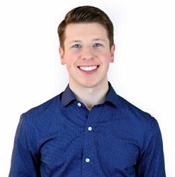 Drew Blais, digital strategist at Van Eperen.