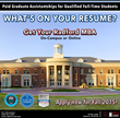 Radford University Launches Online or On-Campus MBA Program (12-24...