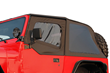 Rampage Frameless Soft Top for Jeep Wrangler