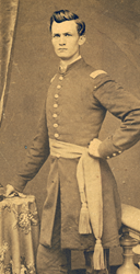 Erasmus Corwin Gilbreath in the early 1860s