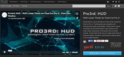 Pixel Film Studios Pro3rd HUD Plugin.