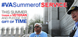 "Bay Pines to Host ""Summer of Service"" Events July 1 and July 2"