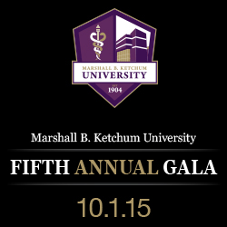 Picture of Marshall B. Ketchum University Fifth Annual Gala Logo