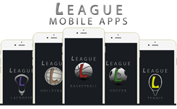 League Mobile Apps Sports Brand