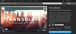 Pixel Film Studios TransGlare Plugin.