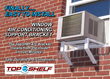 New Product Provides Easier, Safer Installation of Window Air Conditioners