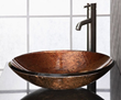Reflex Metallic Copper Vessel Sink RVE180MCO from Ryvyr