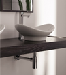 Zefiro Vessel Sink 8207 from Scarabeo