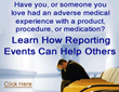 696 Patients and Their Families Speak Out About Adverse Medical Events