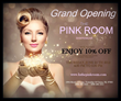 Grand Opening of The Pink Room