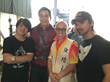 Daniel Wu, Master DeRu and Mr. Feng...