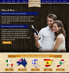 International-Food-Club-Wine Page-Website