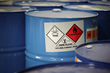 Chemical Drum GHS Label