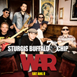 Funk band, WAR, will headline the last Saturday of the rally on the Buffalo Chip's Wolfman Jack Main Stage.