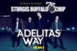 American rock sensation, Adelitas Way will open for WAR on the Buffalo Chip's main stage on Saturday, Aug. 8.