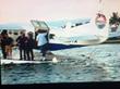 "Tropic Ocean Airways Seaplane On Set of ""The Vanilla Ice..."
