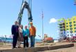 GDC and Ossining Celebrate Raising of Monumental Sculpture at Harbor Square
