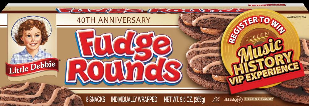 Little Debbie Celebrates 40 Years of Fudge Rounds
