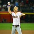 Olympic Icon Dara Torres Delivers Inspirational Speech to Arizona Diamondbacks